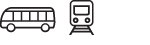 Bus and Train Icon